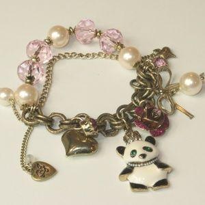 Betsey Johnson Panda Bracelet